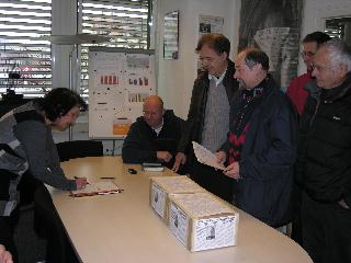 Dépôt du référendum à Saint Gervais - 26.01.09