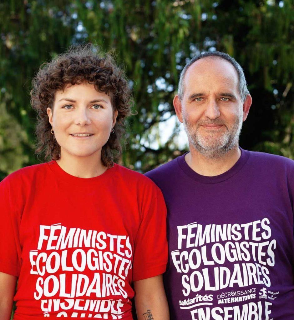 Franziska Meinherz et Yvan Luccarini