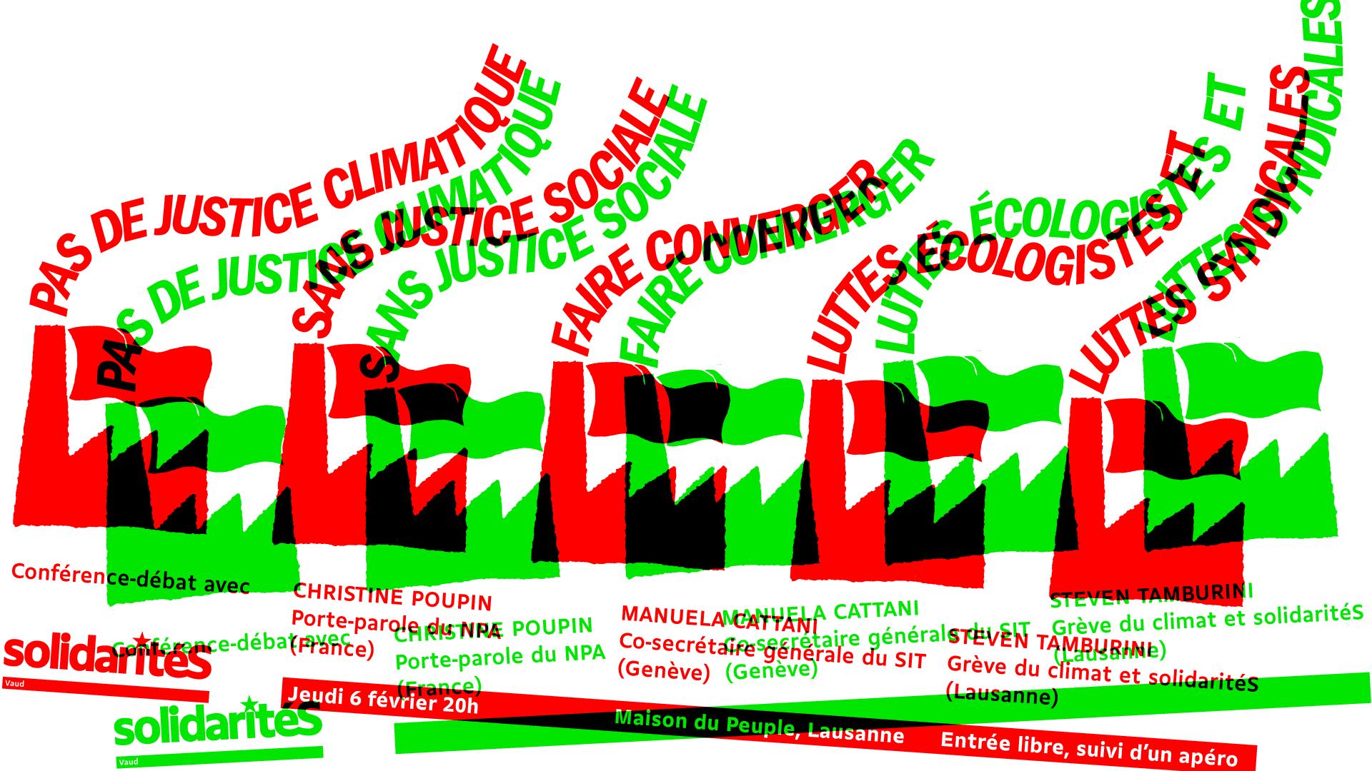 Pas de justice climatique sans justice sociale