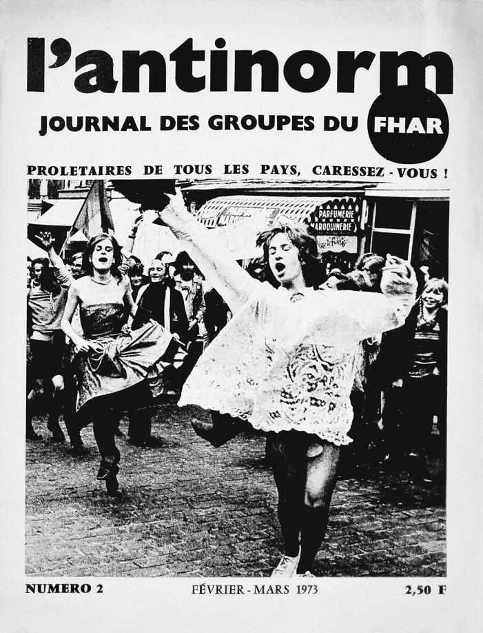 Couverture du numéro 2 du journal du Front homosexuel d'action révolutionnaire, France, 1973