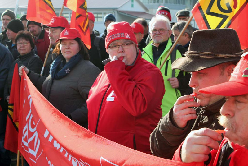 Grève d'IG Metall, Allemagne