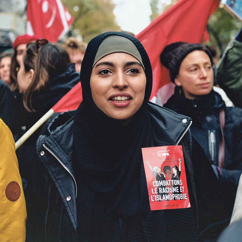 Marche contre l'islamophobie à Paris, 10 novembre 2019