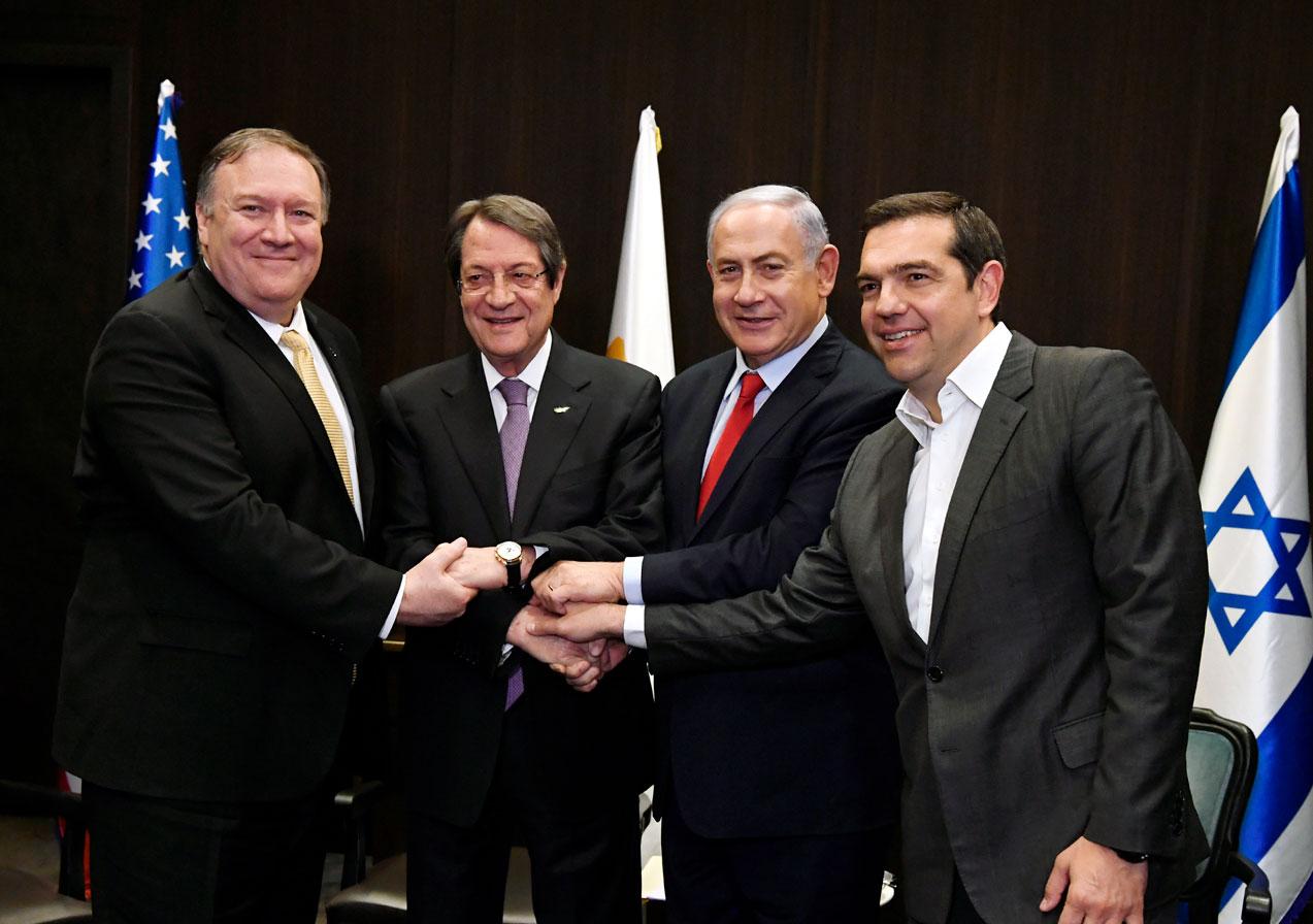 Alexis Tsipras à Jérusalem, mars 2019. Photo: Matty Stern
