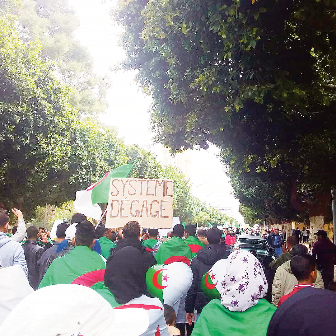 Manifestation à Alger, mai 2019. Photo: Hadcer Belh