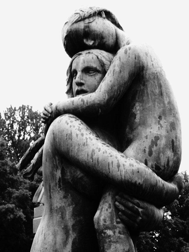 Femme avec enfant. Photo: Marco Loaiza