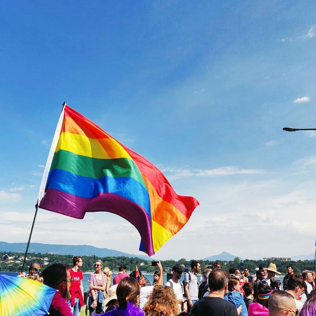 Marche des fiertés 2019, Genève. Photo: Thomas Betend (Instagram)