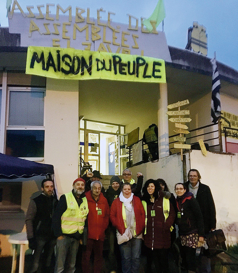 Assemblée des Gilets jaunes, St-Nazaire, 2019