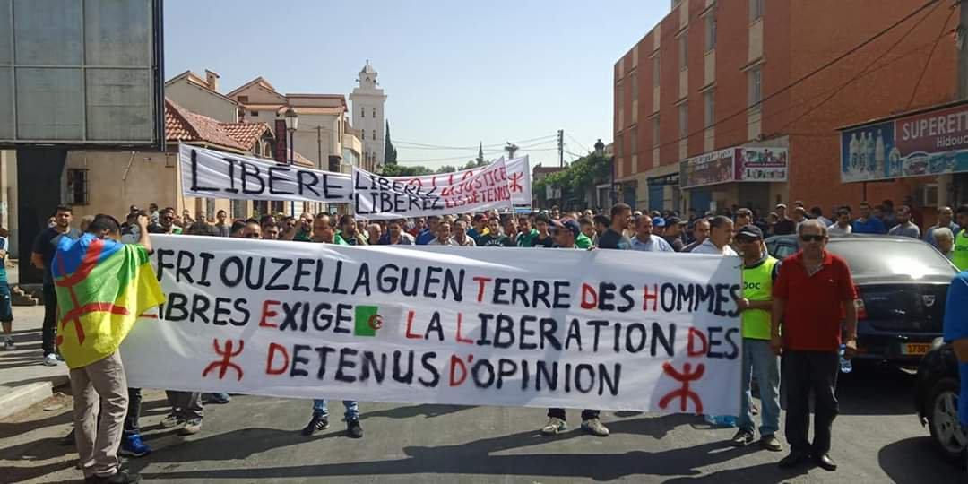 Manifestation, Algerie, 24 juin 2019