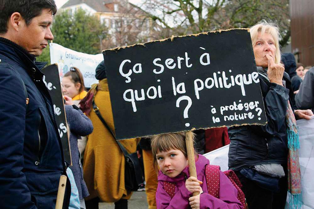 Manifestation pour le climat, Neuchâtel, 15 mars 2019