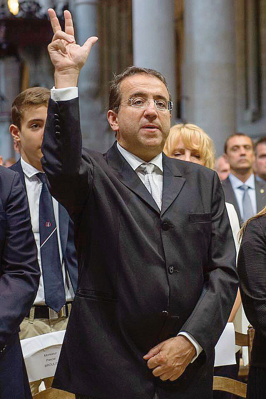 Pascal Broulis jure