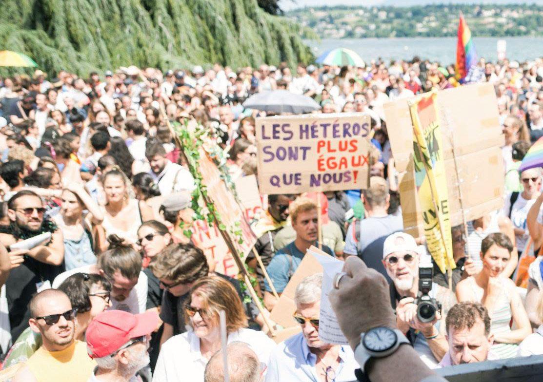 Pride Genève 2019. Photo: David Parel-Ville de Genève