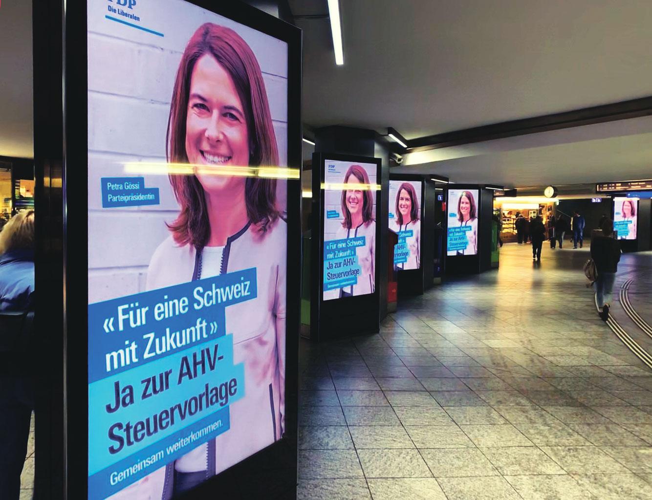 Campagne RFFA, Gare de Berne