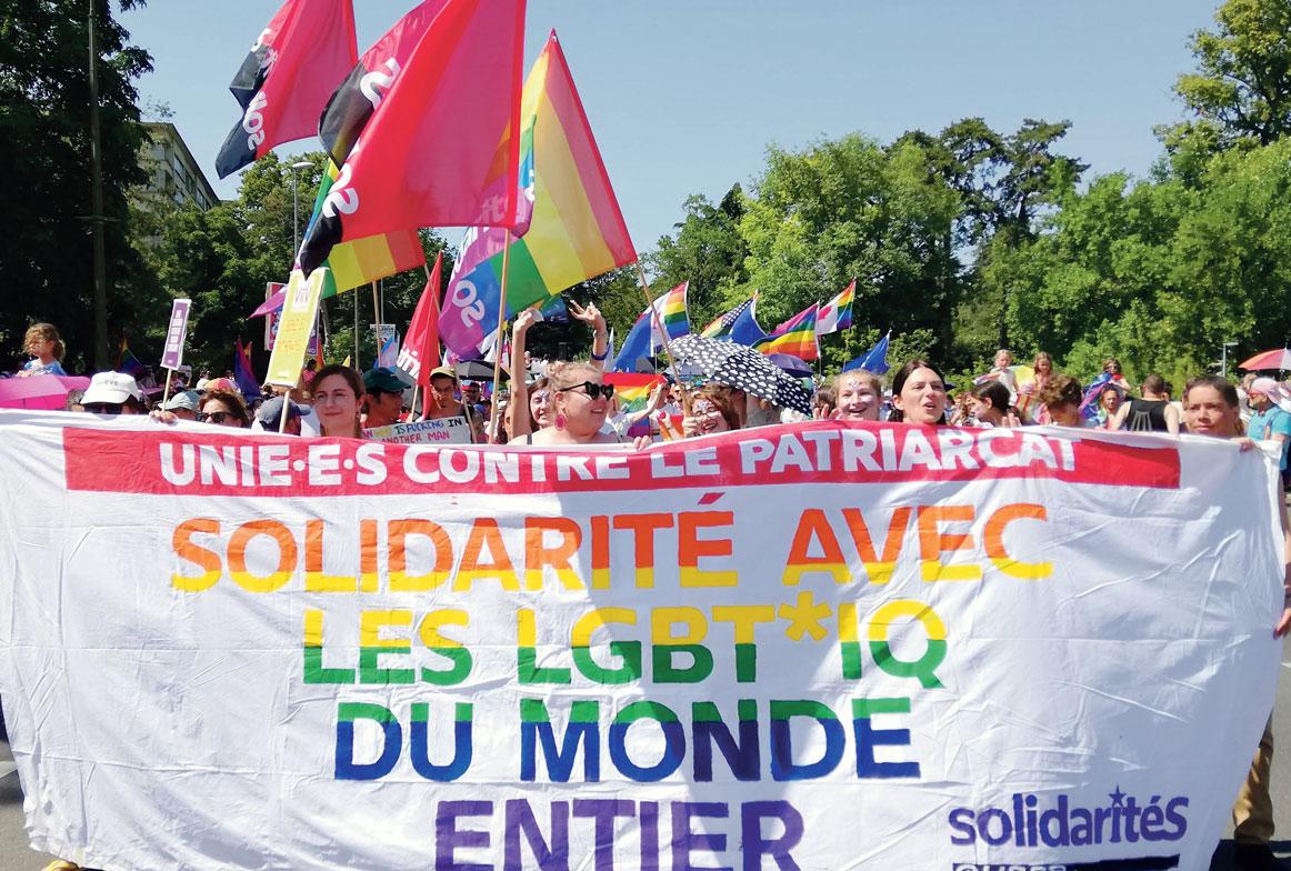 solidaritéS à la Pride Genève 2019