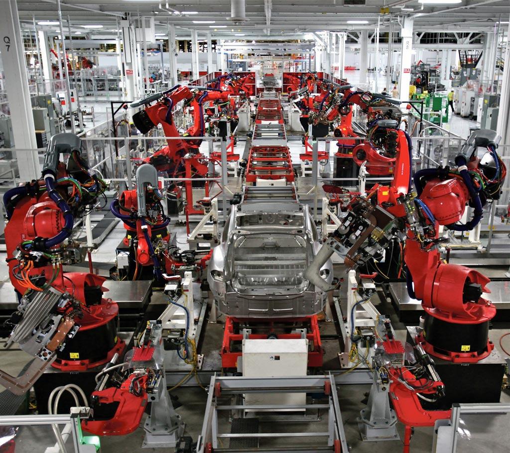 Usine Tesla. Photo: Steve Jurvetson