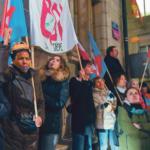 Manifestation du Cartel intersyndical, Genève 5 décembre 2019