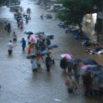 Inondations à Bombay