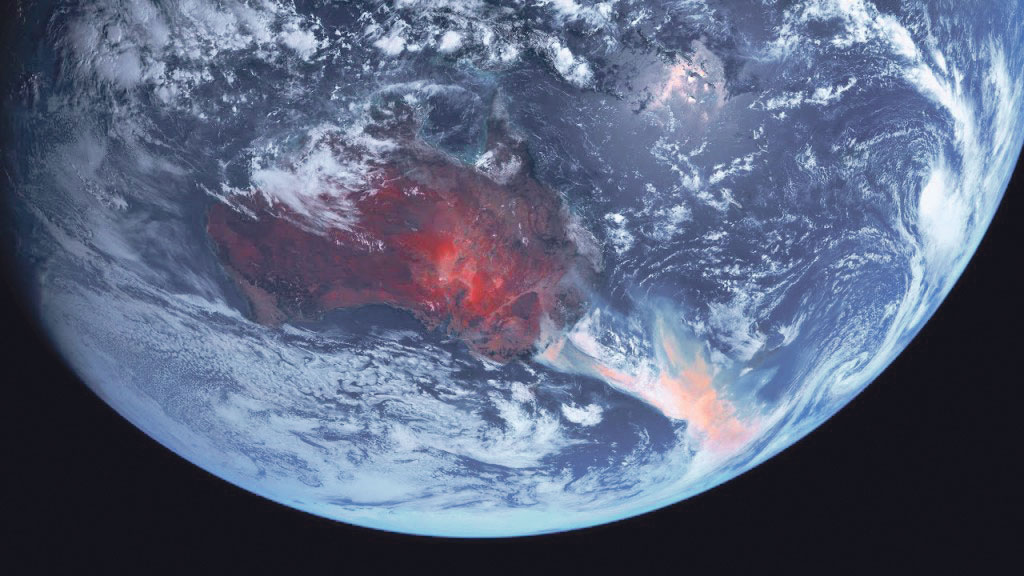 Les feux de forêts en Australie