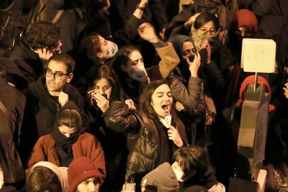 Manifestation en Iran, janvier 2020