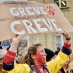 Grève du climat Lausannoise