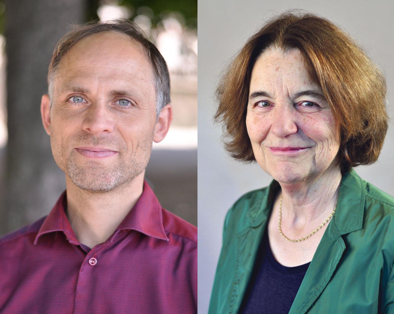 Pierre Bayenet et Brigitte Studer, têtes de liste de Ensemble à Gauche en ville de Genève
