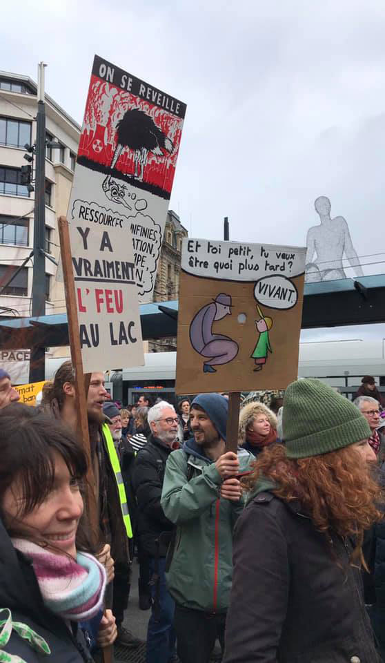 La justice climatique est une question féministe