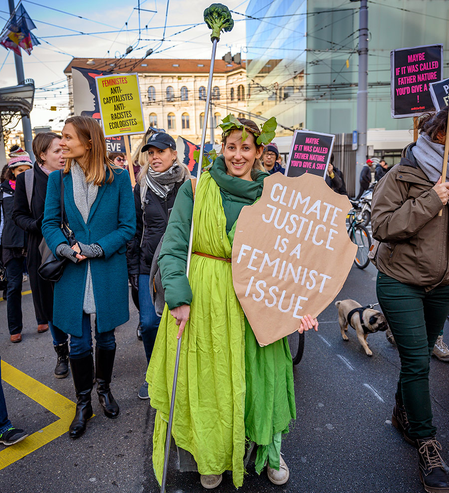 Womens March 2020 Genève