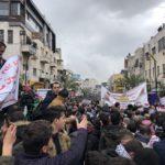 manifestation ramallah février 2020