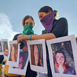 manifestation contre les féminicides mexico février 2020
