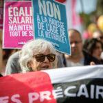 manifestation pour l'égalité salariale septembre 2018