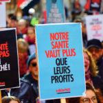 Manifestation contre la hausse des primes, Lausanne, novembre 2018