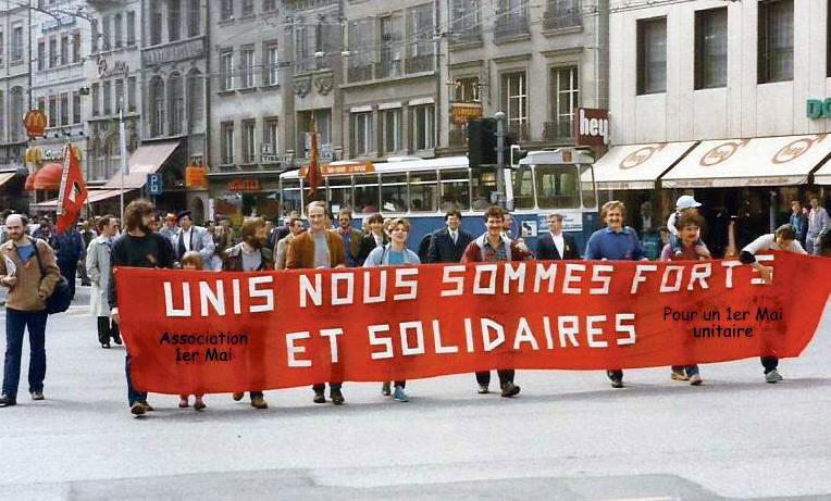 1er Mai 1986, Fribourg