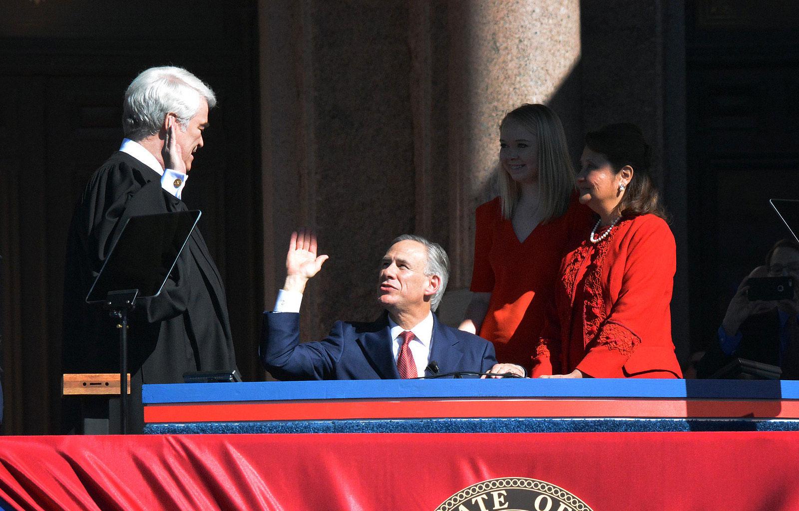 Le gouverneur du Texas Greg Abbott