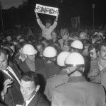 Manifestation contre le NPD à Nordhorn, Allemagne, 26 août 1969