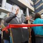 Manifestation devant le siège du FMI, 2006
