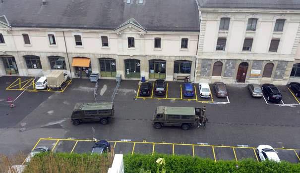 L'arsenal de Genève, avril 2020