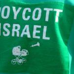 Boycott Israel, sweat shirt