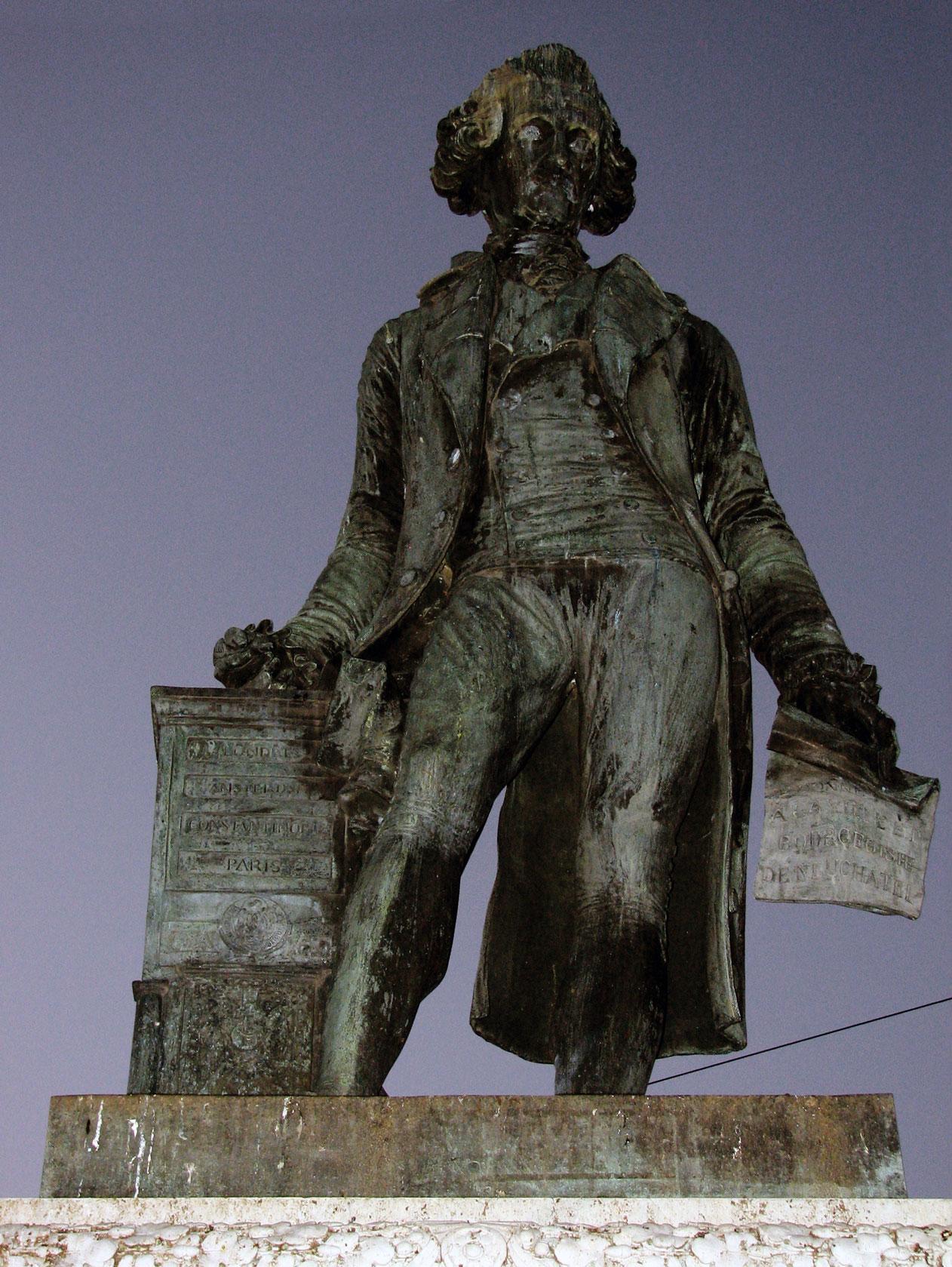 Statue de David de Pury, Neuchâtel