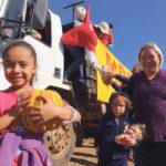 Distribution de nourriture par les MST, Brésil