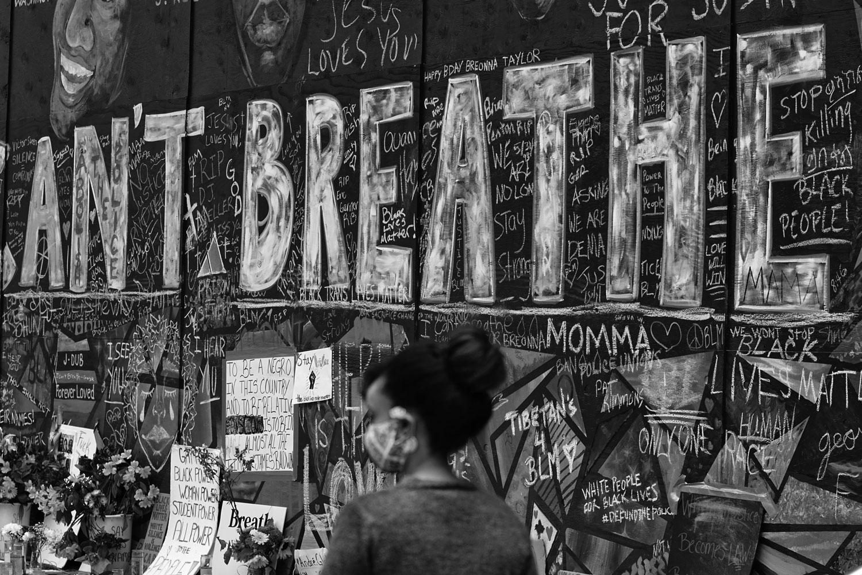 Black Lives Matter mural, Portland, 14juin 2020