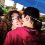 Deux femmes s'embrassent, Varese Pride 2016