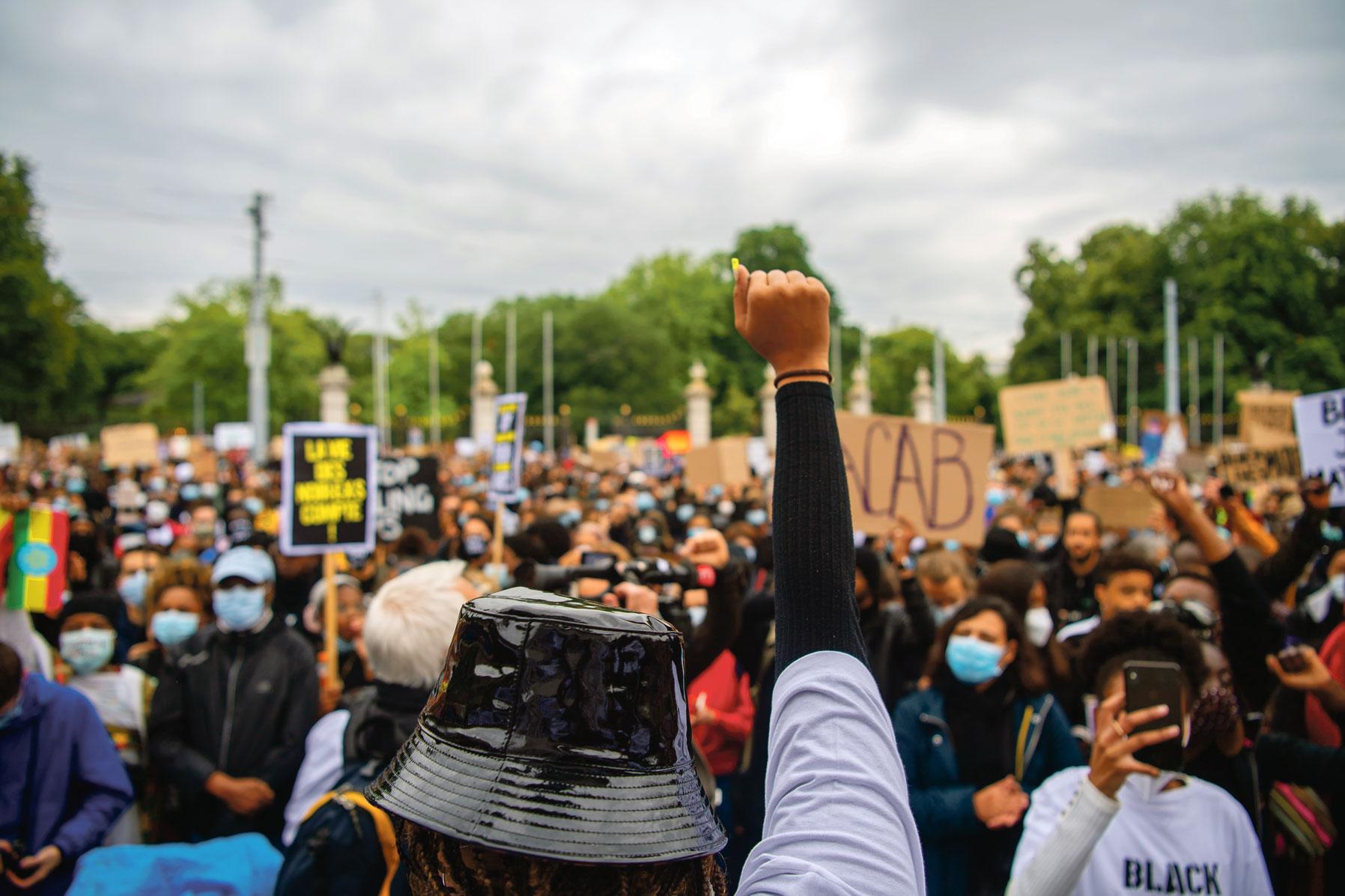 Black Lives Matter, Genève 9 juin 2020