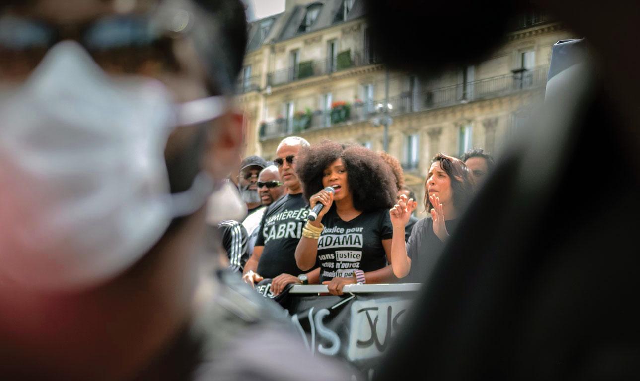 Manifestation Justice pour Adama, Paris, 14 juin 2020