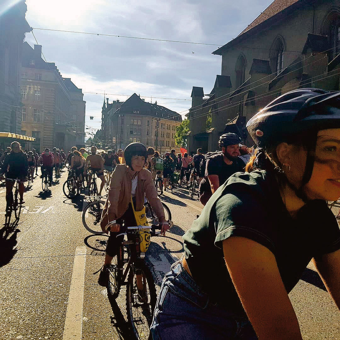Critical Mass, Lausanne, 27 mai 2020