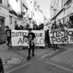 Justice pour Angelo, manifestation, avril 2017