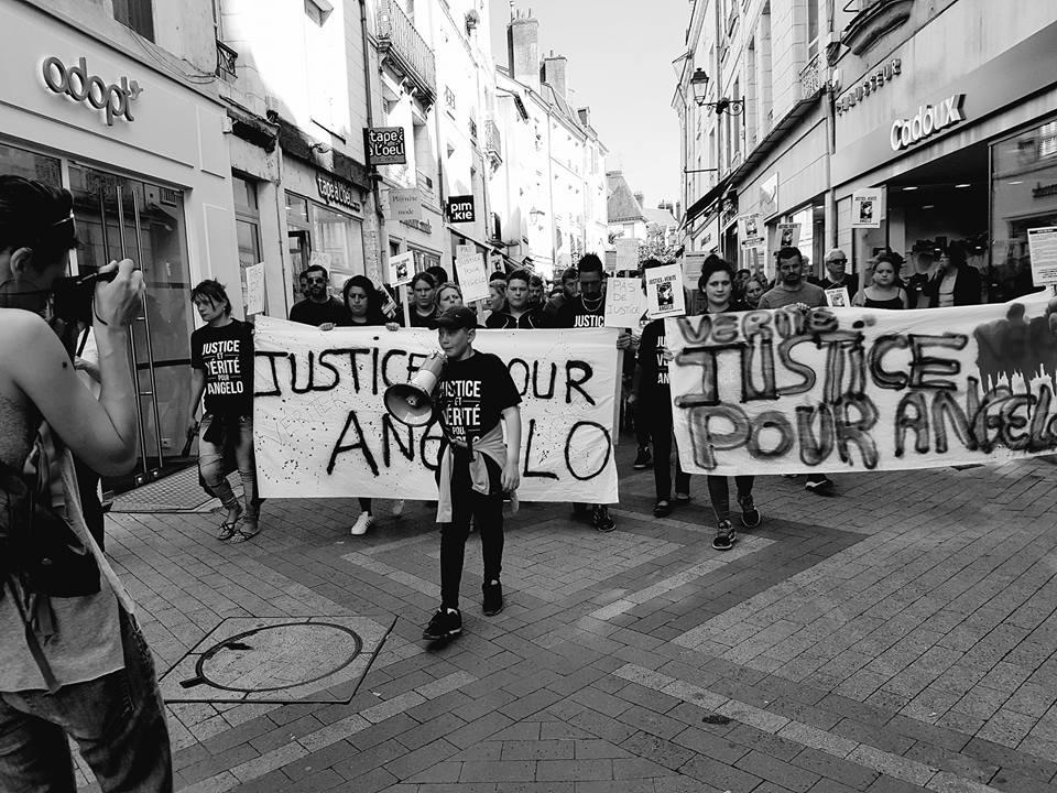 Justice pour Angelo, manifestation, avril 2017
