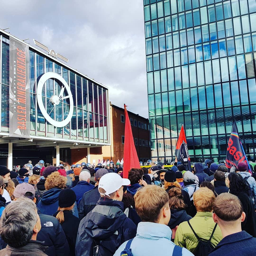 Manifestation Basel NaziFrei, 24 novembre 2018
