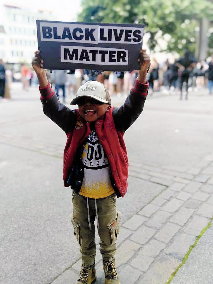 Black Livres Matter, Fribourg, 20 juin 2020