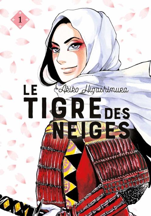 Couverture de Higashimura-Akiko, Le tigre des neiges