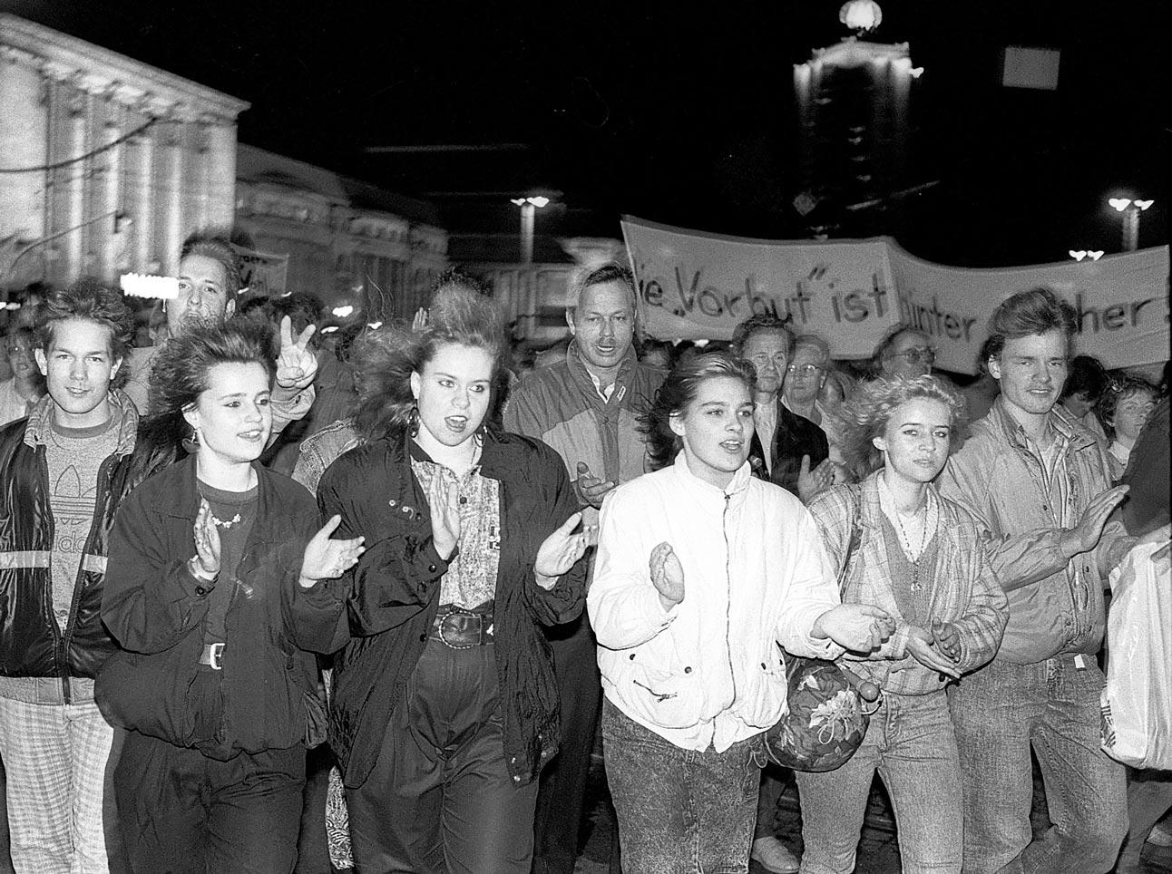 Leipzig octobre 1989