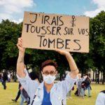 Manif du service public, Paris, 16 juin 2020